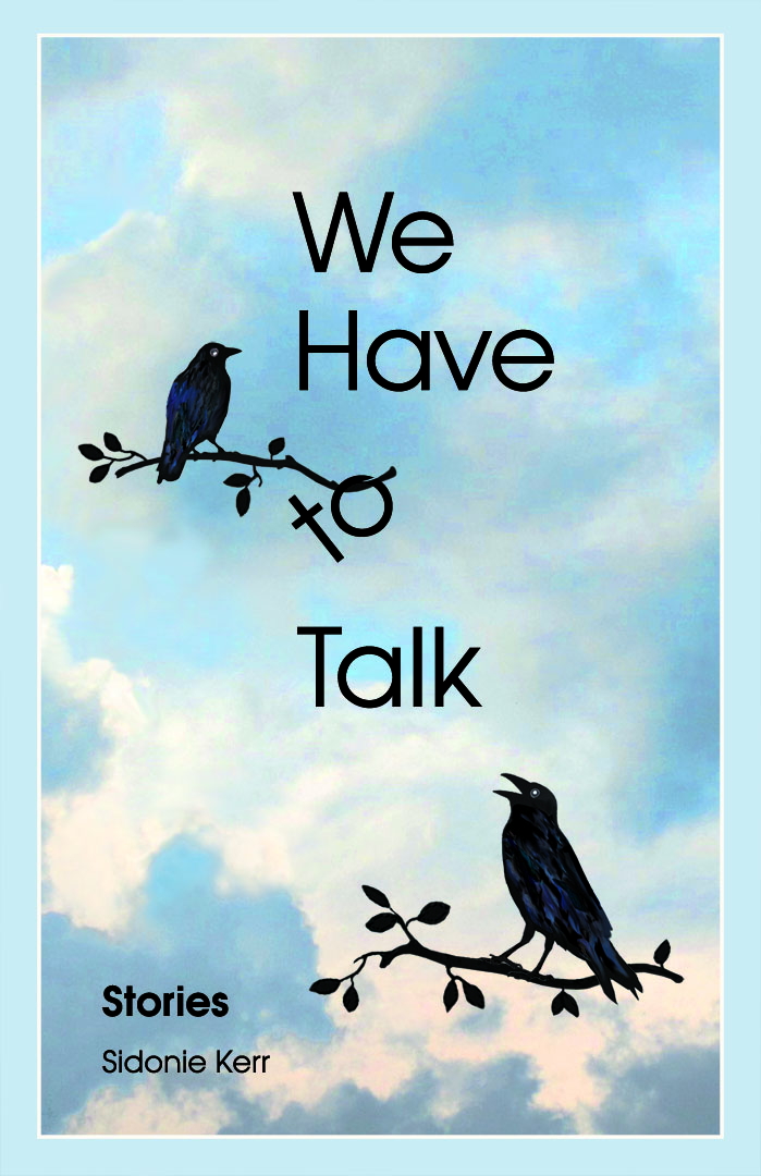 We Have to Talk, book cover